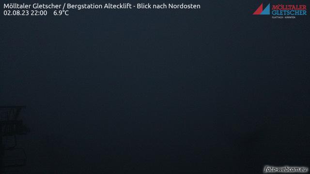 Livecam Mölltaler Gletscher - Alteck