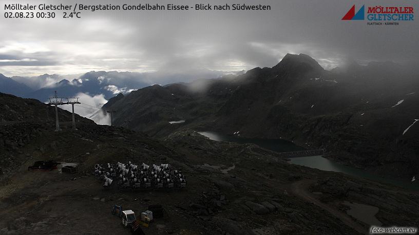 WEBkamera Mölltaler Gletscher - Eissee