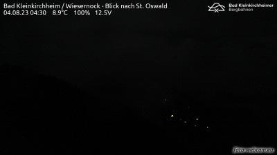 Webcam Bad Kleinkirchheim Wiesernock